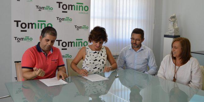 Fimamos co Concello acordo de profesionalización do Centro Comercial Aberto.