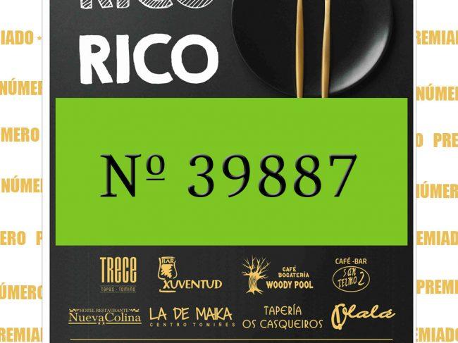 Sorteo RICO, RICO.